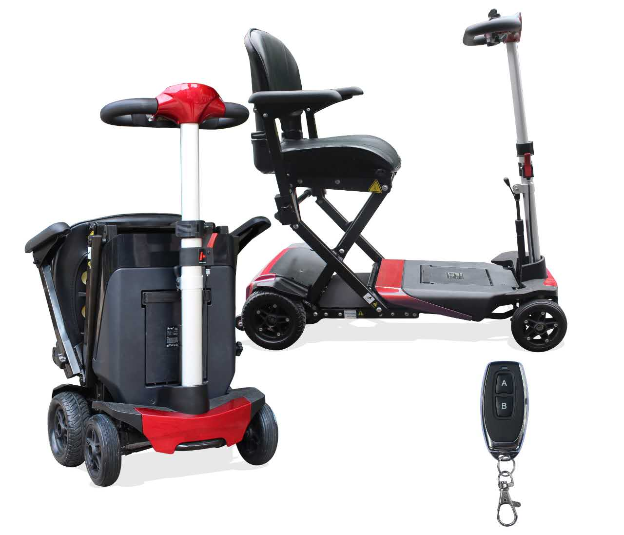 Mobility Scooters For Sale >> Solax Auto Fold Automatic Folding Travel Mobility Scooter - Portable Mobility