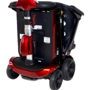 Genie Automatic Folded Scooter - Red