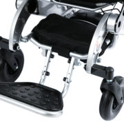 New feature double hinge longer footrest